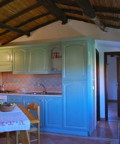 Soggiorno-cucina Villa Maria Teresa