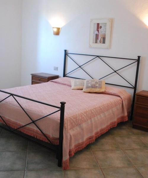 Camera da letto Residence Oasi Blu