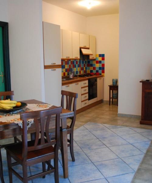 Sala living Residence Oasi Blu